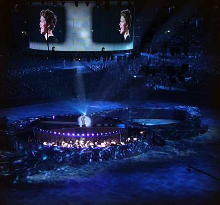 Opening ceremony – Friends Arena
